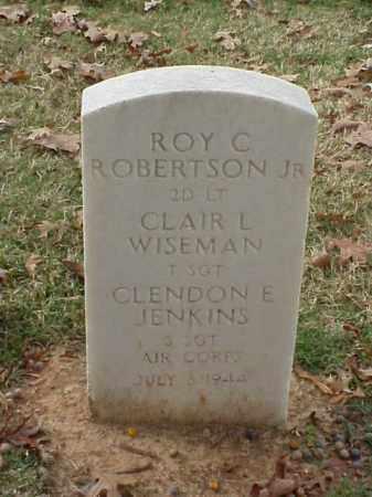 WISEMAN (VETERAN WWII), CLAIR L - Pulaski County, Arkansas   CLAIR L WISEMAN (VETERAN WWII) - Arkansas Gravestone Photos