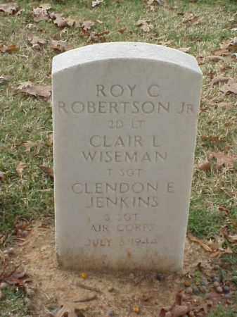 ROBERTSON, JR  (VETERAN), ROY C - Pulaski County, Arkansas | ROY C ROBERTSON, JR  (VETERAN) - Arkansas Gravestone Photos
