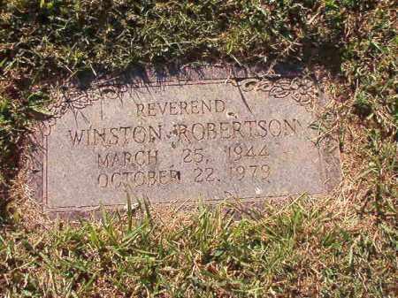 ROBERTSON, REV, WINSTON - Pulaski County, Arkansas   WINSTON ROBERTSON, REV - Arkansas Gravestone Photos