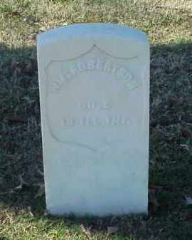 ROBERTSON (VETERAN UNION), WILLIAM - Pulaski County, Arkansas | WILLIAM ROBERTSON (VETERAN UNION) - Arkansas Gravestone Photos