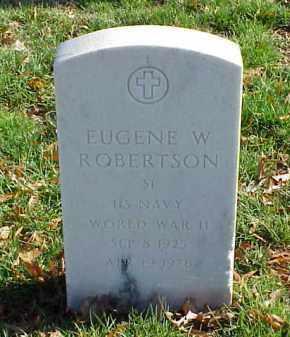 ROBERTSON (VETERAN WWII), EUGENE W - Pulaski County, Arkansas   EUGENE W ROBERTSON (VETERAN WWII) - Arkansas Gravestone Photos