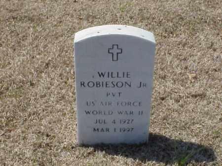 ROBIESON, JR (VETERAN WWII), WILLIE - Pulaski County, Arkansas   WILLIE ROBIESON, JR (VETERAN WWII) - Arkansas Gravestone Photos
