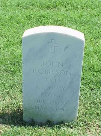 ROBIESON (VETERAN KOR), JOHN - Pulaski County, Arkansas | JOHN ROBIESON (VETERAN KOR) - Arkansas Gravestone Photos