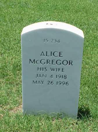 ROBINSON, ALICE MCGREGOR - Pulaski County, Arkansas | ALICE MCGREGOR ROBINSON - Arkansas Gravestone Photos