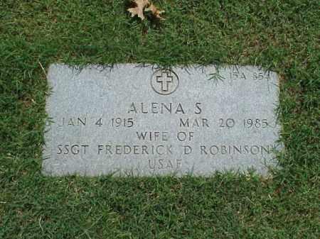 ROBINSON, ALENA S - Pulaski County, Arkansas | ALENA S ROBINSON - Arkansas Gravestone Photos