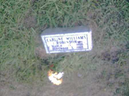 ROBINSON, CAROLINE WILLIAMS - Pulaski County, Arkansas | CAROLINE WILLIAMS ROBINSON - Arkansas Gravestone Photos