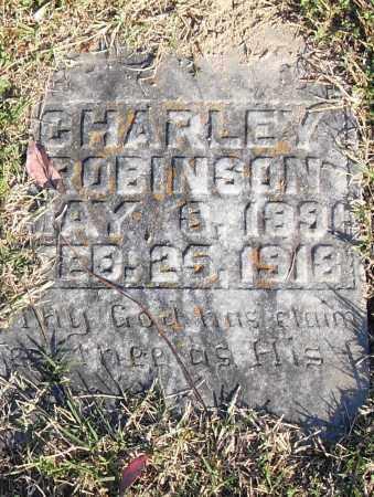 ROBINSON, CHARLEY - Pulaski County, Arkansas   CHARLEY ROBINSON - Arkansas Gravestone Photos