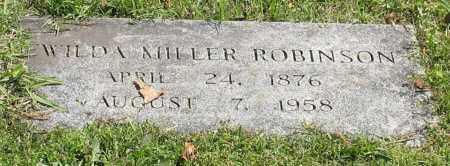 MILLER ROBINSON, EWILDA - Pulaski County, Arkansas | EWILDA MILLER ROBINSON - Arkansas Gravestone Photos