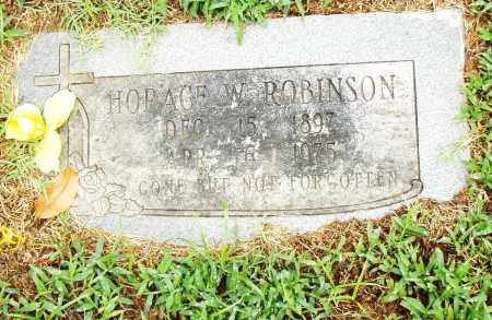 ROBINSON, HORACE W. - Pulaski County, Arkansas   HORACE W. ROBINSON - Arkansas Gravestone Photos