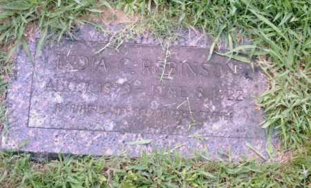 ROBINSON, INDIA - Pulaski County, Arkansas | INDIA ROBINSON - Arkansas Gravestone Photos