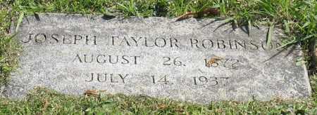 ROBINSON, JOSEPH TAYLOR - Pulaski County, Arkansas | JOSEPH TAYLOR ROBINSON - Arkansas Gravestone Photos