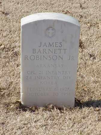 ROBINSON, JR (VETERAN KOR), JAMES BARNETT - Pulaski County, Arkansas | JAMES BARNETT ROBINSON, JR (VETERAN KOR) - Arkansas Gravestone Photos