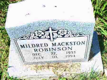 ROBINSON, MILDRED - Pulaski County, Arkansas | MILDRED ROBINSON - Arkansas Gravestone Photos