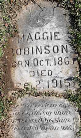ROBINSON, MAGGIE - Pulaski County, Arkansas   MAGGIE ROBINSON - Arkansas Gravestone Photos