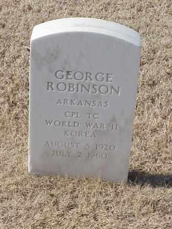 ROBINSON (VETERAN 2 WARS), GEORGE - Pulaski County, Arkansas | GEORGE ROBINSON (VETERAN 2 WARS) - Arkansas Gravestone Photos