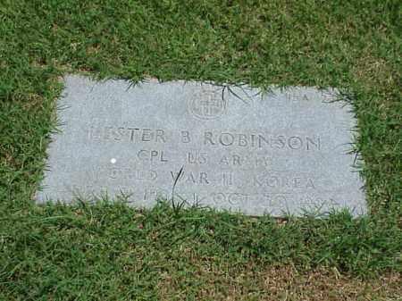ROBINSON (VETERAN 2 WARS), LESTER B - Pulaski County, Arkansas | LESTER B ROBINSON (VETERAN 2 WARS) - Arkansas Gravestone Photos