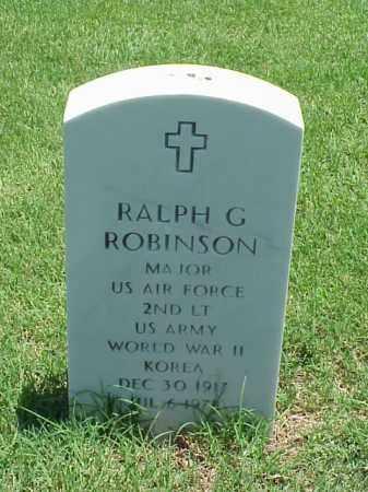 ROBINSON (VETERAN 2 WARS), RALPH G - Pulaski County, Arkansas | RALPH G ROBINSON (VETERAN 2 WARS) - Arkansas Gravestone Photos