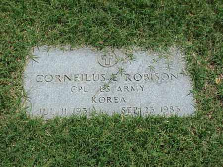 ROBINSON (VETERAN KOR), CORNEILUS E - Pulaski County, Arkansas   CORNEILUS E ROBINSON (VETERAN KOR) - Arkansas Gravestone Photos