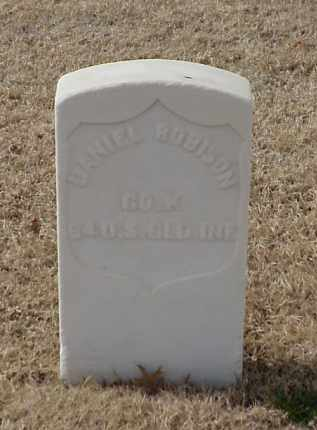 ROBISON (VETERAN UNION), DANIEL - Pulaski County, Arkansas | DANIEL ROBISON (VETERAN UNION) - Arkansas Gravestone Photos