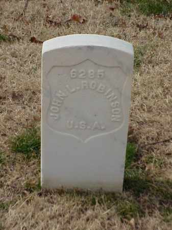 ROBINSON (VETERAN UNION), JOHN L - Pulaski County, Arkansas | JOHN L ROBINSON (VETERAN UNION) - Arkansas Gravestone Photos