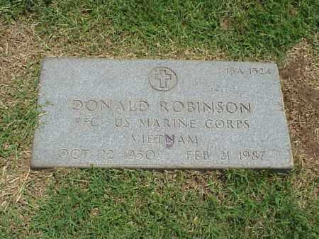 ROBINSON (VETERAN VIET), DONALD - Pulaski County, Arkansas   DONALD ROBINSON (VETERAN VIET) - Arkansas Gravestone Photos