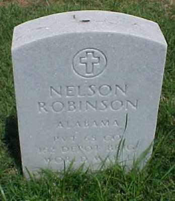 ROBINSON (VETERAN WWI), NELSON - Pulaski County, Arkansas | NELSON ROBINSON (VETERAN WWI) - Arkansas Gravestone Photos