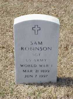 ROBINSON (VETERAN WWI), SAM - Pulaski County, Arkansas | SAM ROBINSON (VETERAN WWI) - Arkansas Gravestone Photos