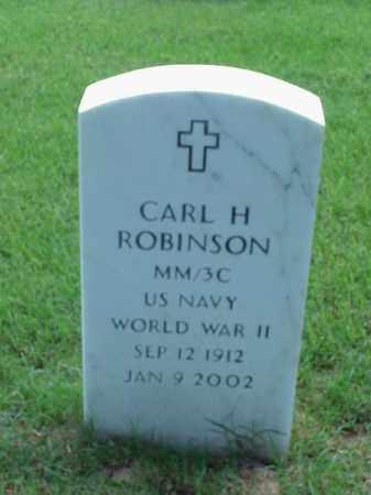 ROBINSON (VETERAN WWII), CARL H - Pulaski County, Arkansas | CARL H ROBINSON (VETERAN WWII) - Arkansas Gravestone Photos