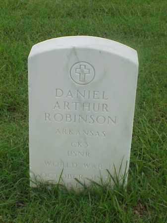 ROBINSON (VETERAN WWII), DANIEL ARTHUR - Pulaski County, Arkansas   DANIEL ARTHUR ROBINSON (VETERAN WWII) - Arkansas Gravestone Photos