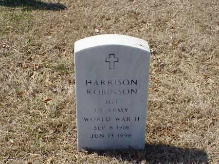 ROBINSON (VETERAN WWII), HARRISON - Pulaski County, Arkansas   HARRISON ROBINSON (VETERAN WWII) - Arkansas Gravestone Photos
