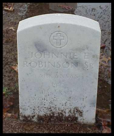 ROBINSON, SR (VETERAN WWII), JOHNNIE ELBERT - Pulaski County, Arkansas | JOHNNIE ELBERT ROBINSON, SR (VETERAN WWII) - Arkansas Gravestone Photos