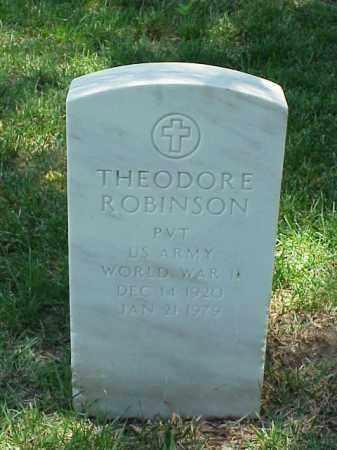ROBINSON (VETERAN WWII), THEODORE - Pulaski County, Arkansas | THEODORE ROBINSON (VETERAN WWII) - Arkansas Gravestone Photos