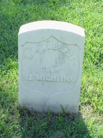 ROBORDS (VETERAN UNION), R H - Pulaski County, Arkansas   R H ROBORDS (VETERAN UNION) - Arkansas Gravestone Photos