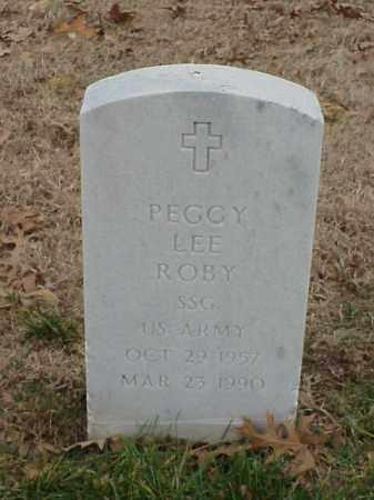 ROBY (VETERAN), PEGGY LEE - Pulaski County, Arkansas | PEGGY LEE ROBY (VETERAN) - Arkansas Gravestone Photos