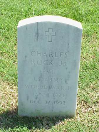 ROCK, JR (VETERAN WWII), CHARLES - Pulaski County, Arkansas | CHARLES ROCK, JR (VETERAN WWII) - Arkansas Gravestone Photos