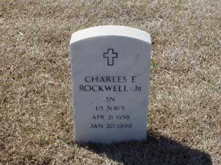 ROCKWELL, JR (VETERAN), CHARLES E - Pulaski County, Arkansas | CHARLES E ROCKWELL, JR (VETERAN) - Arkansas Gravestone Photos