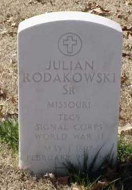 RODAKOWSKI, SR (VETERAN WWII), JULIAN - Pulaski County, Arkansas | JULIAN RODAKOWSKI, SR (VETERAN WWII) - Arkansas Gravestone Photos