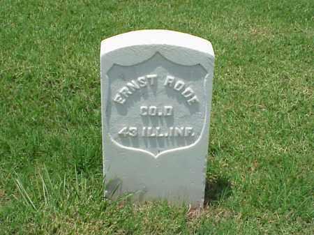 RODE (VETERAN UNION), ERNST - Pulaski County, Arkansas | ERNST RODE (VETERAN UNION) - Arkansas Gravestone Photos