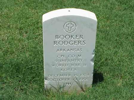 RODGERS (VETERAN 2 WARS), BOOKER - Pulaski County, Arkansas | BOOKER RODGERS (VETERAN 2 WARS) - Arkansas Gravestone Photos