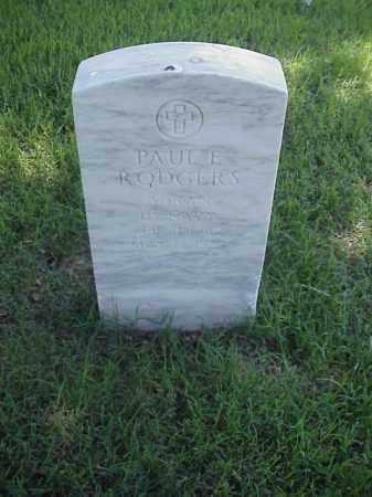 RODGERS (VETERAN), PAUL E - Pulaski County, Arkansas | PAUL E RODGERS (VETERAN) - Arkansas Gravestone Photos