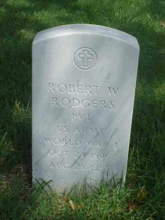 RODGERS (VETERAN WWI), ROBERT W - Pulaski County, Arkansas | ROBERT W RODGERS (VETERAN WWI) - Arkansas Gravestone Photos