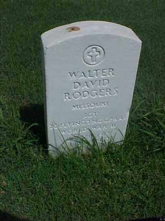 RODGERS (VETERAN WWII), WALTER DAVID - Pulaski County, Arkansas | WALTER DAVID RODGERS (VETERAN WWII) - Arkansas Gravestone Photos