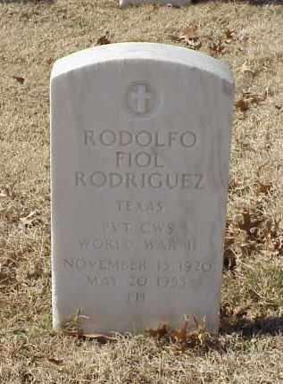 RODRIGUEZ (VETERAN WWII), RODOLFO FIOL - Pulaski County, Arkansas | RODOLFO FIOL RODRIGUEZ (VETERAN WWII) - Arkansas Gravestone Photos