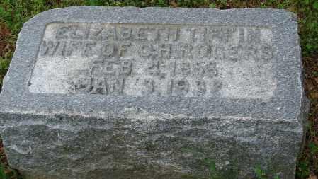 ROGERS, ELIZABETH TIFFIN - Pulaski County, Arkansas | ELIZABETH TIFFIN ROGERS - Arkansas Gravestone Photos