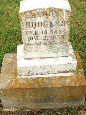 ROGERS, HENRY - Pulaski County, Arkansas   HENRY ROGERS - Arkansas Gravestone Photos