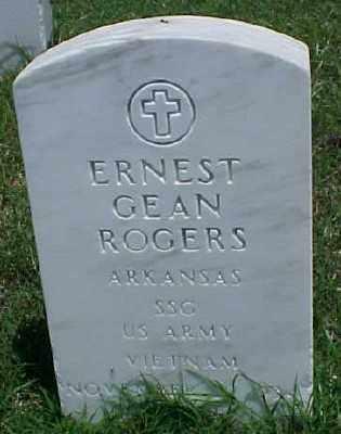 ROGERS (VETERAN VIET), ERNEST GEAN - Pulaski County, Arkansas | ERNEST GEAN ROGERS (VETERAN VIET) - Arkansas Gravestone Photos
