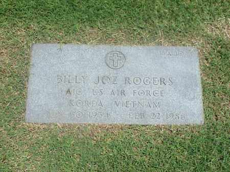 ROGERS (VETERAN 2 WARS), BILLY JOE - Pulaski County, Arkansas | BILLY JOE ROGERS (VETERAN 2 WARS) - Arkansas Gravestone Photos