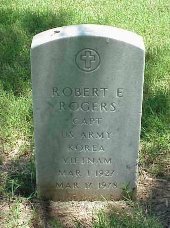 ROGERS (VETERAN 2 WARS), ROBERT E - Pulaski County, Arkansas   ROBERT E ROGERS (VETERAN 2 WARS) - Arkansas Gravestone Photos