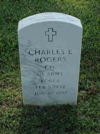 ROGERS (VETERAN KOR), CHARLES E - Pulaski County, Arkansas | CHARLES E ROGERS (VETERAN KOR) - Arkansas Gravestone Photos