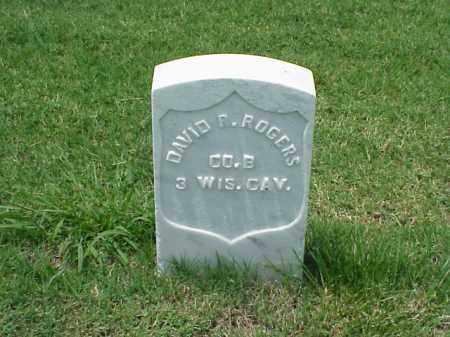 ROGERS (VETERAN UNION), DAVID R - Pulaski County, Arkansas | DAVID R ROGERS (VETERAN UNION) - Arkansas Gravestone Photos
